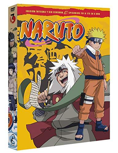 Naruto Box 7 Episodios 151 A 175 [DVD]