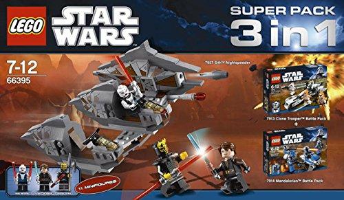 LEGO Star Wars 66395 3-in-1 Spezialpack (7957, 7913 und 7914)