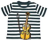 Ariz - Camiseta para bebé, diseño de rayas, color azul marino y blanco lavado, 18-24 meses