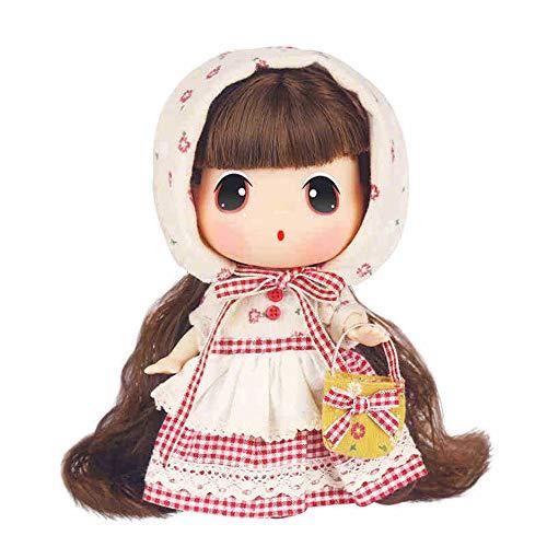 HIL Banana Doll Princess Doll Cute Doll Diy Dressup Collection muñeca muñeca muñeca caja de regalo regalo niña muñeca 7.08 pulgadas muñeca regalo regalo de cumpleaños muñeca muñeca niña pueblo niña