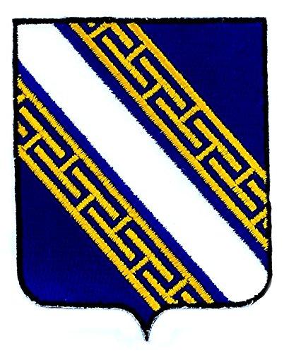 Applicatie geborduurd champagne Ardenne wapen vlag regio e2