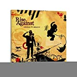 RONGYU Rise Againsts Albumcover-Poster, dekoratives