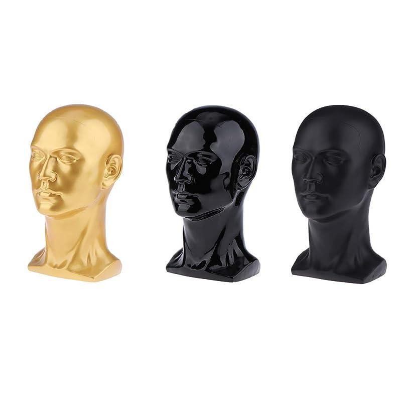 そんなにどっち予定DYNWAVE マネキンヘッド 男性 頭部モデル かつら 帽子 スカーフ ヘアバンド 作成 ディスプレイ