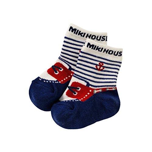ミキハウス MIKIHOUSE ソックス 41-9602-970 7 紺