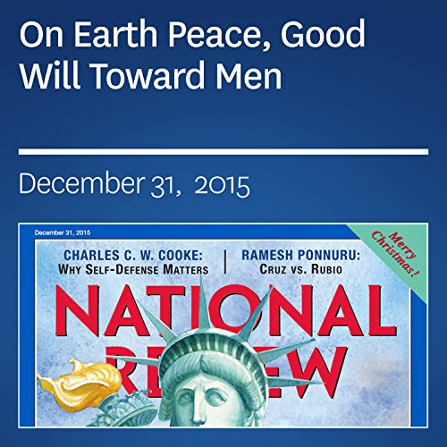 On Earth Peace, Good Will Toward Men audiobook cover art
