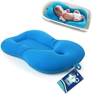 Almohada de baño para bebé Moonvvin, diseño flotante, para recién nacido.