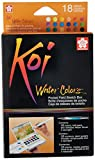 Sakura Juego de acuarelas Koi, caja de 36 colores, set para bocetos