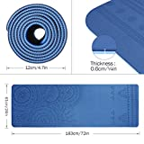 Zoom IMG-2 tomshoo tappetino yoga antiscivolo tpe