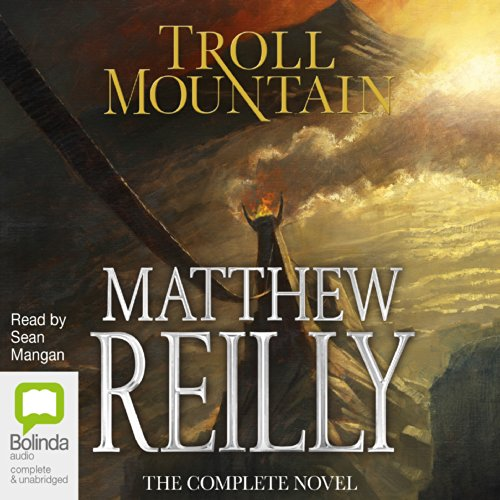 Troll Mountain audiobook cover art