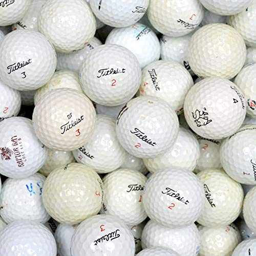 Second Chance Titleist 100 Assorted Model Lake Golf Balls...