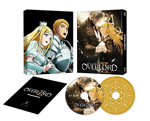 overlord II 2 (all volume purchase benefits: anime draw down illustrations use original size book cover redemption serial code) [DVD] (Full bon JAPANESE EDITION