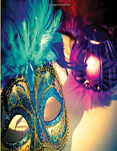 Venice carnival 2020: Carnevale Di Venezia Notebook | Carnival Of Venice | Photography Of Moretta Venetian Mask At Venice Carnival Journal for Writing College Ruled Size 8.5