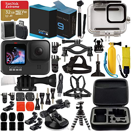 GoPro HERO9 Action Camera (Black) with Premium...