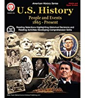 Mark Twain U.S. History Workbook—Grades 6-12 American History, People and Events From 1865-Present With Maps and Timelines, Classroom or Homeschool Curriculum (96 pgs)