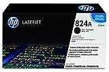 HP 824A CB384A, Negro, Tambor de Imágenes Original, de 23.000 páginas, para impresoras HP Color LaserJet CP6015dn, CP6015n, CP6015xh, CM6030, CM6030f, CM6040 y CM6040f
