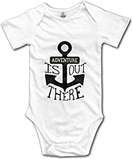 Anchor Adventure There Unisex Baby Short Sleeve Bodysuit