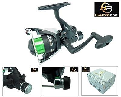 Hunter Pro Match Fishing Reel 40R Coarse Fishing Reel With Line Rear Drag by Hunter Pro