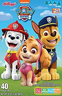 Fruit Flavored Snacks, Paw Patrol, 6 Count