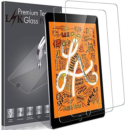 LK [2 Pack] Screen Protector for iPad Mini 5 (2019) / iPad Mini 4 Tempered Glass Case Friendly,...