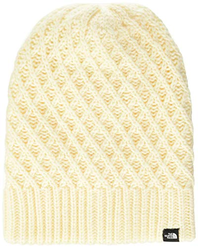 The North Face Shinsky Beanie, Berretto Donna, Bianco (Vntwhtxstitch), Taglia unica