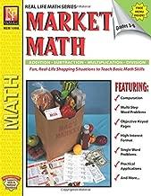 Real Life Math Series: Market Math   Reproducible Activity Book