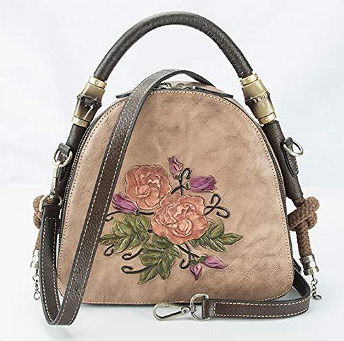 ZXPPL Borse retrò, Nuove borse di bellezza in Stile europeo, borse da Donna, borse da Donna in Stile cinese, manici superiori unici, borse a tracolla, borse