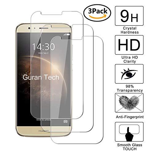 Guran [3-Unidades] Protector de Pantalla Vidrio Cristal Templado para Huawei G8 Smartphone...
