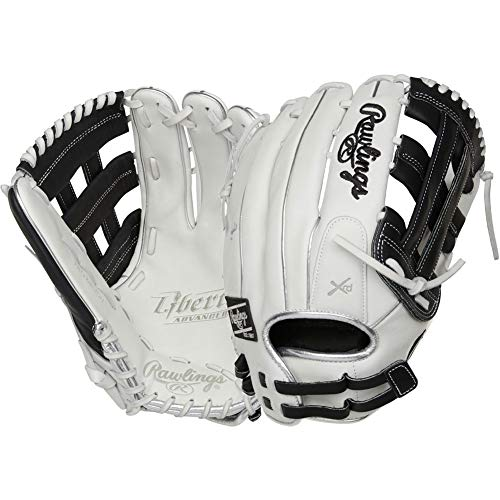 Rawlings Liberty Advanced Color Sync 2.0 13' Outfield Fastpitch Softball Glove - White/Black -Right Hand Throw