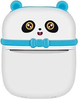 Impresora de bolsillo mini Bluetooth inalámbrica portátil impresora térmica compatible con iOS + Android para aprendizaje ...