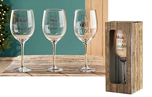 1 x Weinglas Der beste Wein ist der, den wir mit Freunden trinken, Party, Gäste, Geschirr