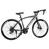 Best Hybrid Bikes For Men - SSYUNO 700c Road Bike City Commuter Bicycle Review