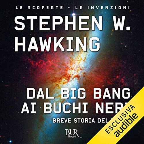 Dal big bang ai buchi neri copertina