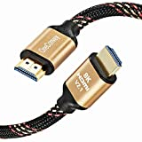 OneConvey 8K HDMI Cable (HDMI 2.1) 6.5 Feet -Ultra High Speed HDMI Cable 48Gbps Optimal Viewing for Apple TV and Apple TV 4K Xbox PS4 4K Dolby Vision HDR10 Ethernet/ARC Dolby Atmos