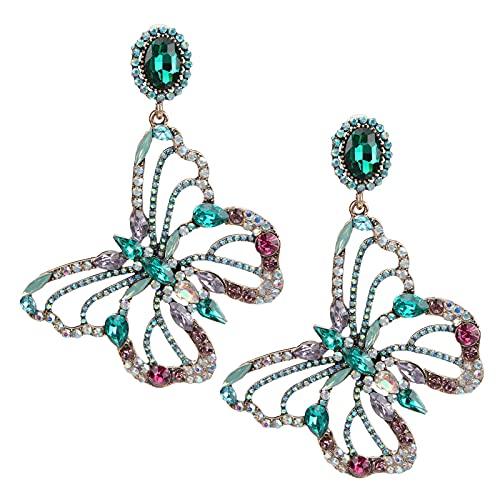 LAJS Metallohrringe, atemberaubende Ohrringe für Damen Mädchen Accessoires