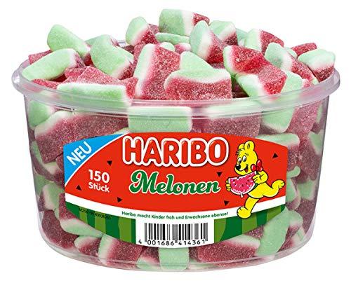 Haribo Melone, 1er Pack (1 x 1.05 kg Dose)