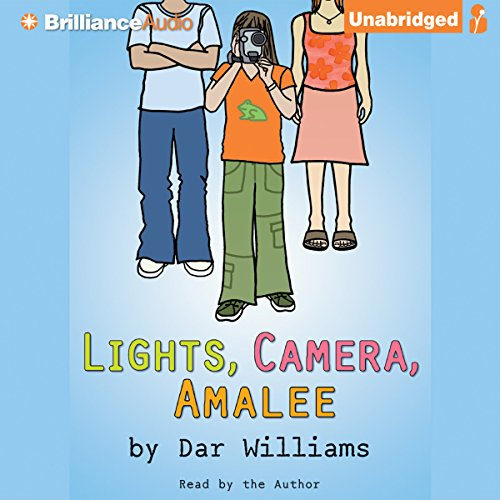 Lights, Camera, Amalee audiobook cover art