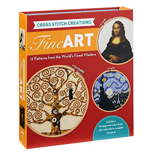 Lohman, J: Cross Stitch Creations: Fine Art