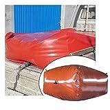 LSXIAO Recipiente De Agua Plegable, Cubo De Agua De PVC Flexible, Grifo Ajustable Fácil De Almacenar O Transportar Utilizado En Caso De Emergencia O Desastre (Color : Red, Size : 5000L/2.5x2x1m)