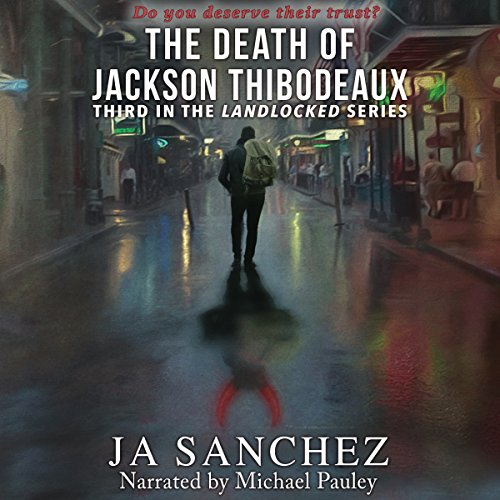 The Death of Jackson Thibodeaux audiobook cover art