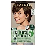 Clairol Natural Instincts Semi-Permanent Hair Color, 5A Medium Cool Brown, 1 Count