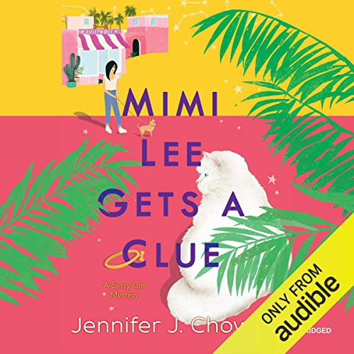 Mimi Lee Gets a Clue audiobook cover art