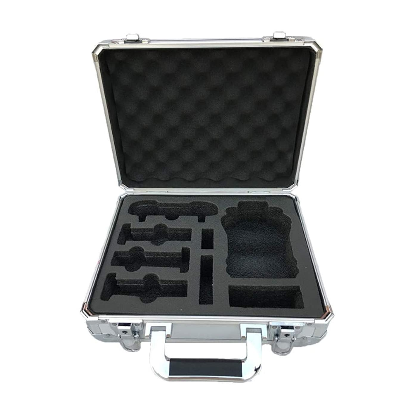 Carrying Case Aluminum Hard Travel Protect Case for Hubsan Zino H117S (Sliver, 330x140x280 mm)