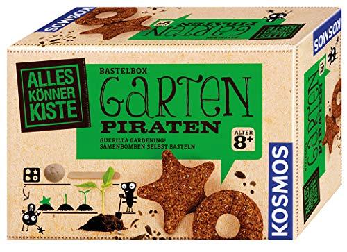 Gartenpiraten: Samenbomben selbst basteln