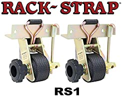 top rated RS1 Rack Strap Yellow frame made of galvanized steel, 8-inch black rectangular mounting bracket… 2021