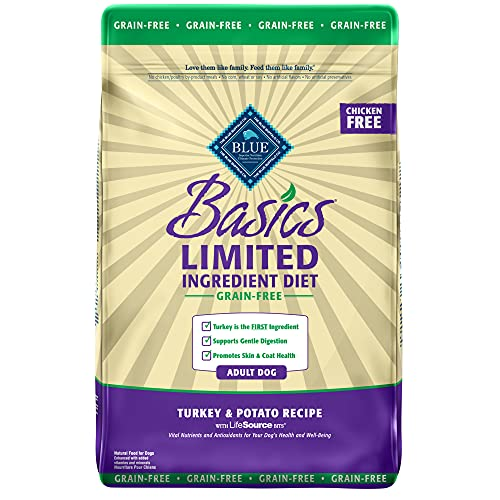 BLUE Basics Limited Ingredient Diet Adult Grain-Free Turkey & Potato Dry Dog Food