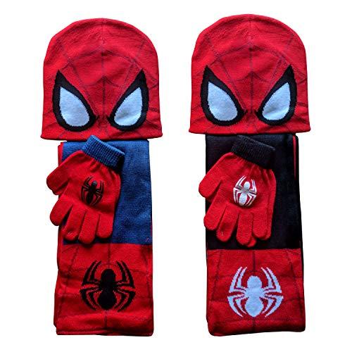 Marvel Spiderman Winter Set | Muts, sjaal en handschoenen | 2 Kleuren