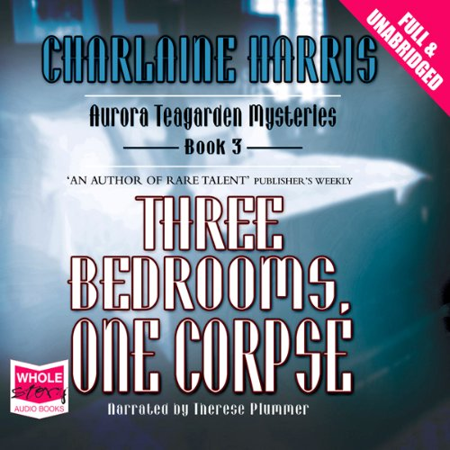 Three Bedrooms, One Corpse audiobook cover art