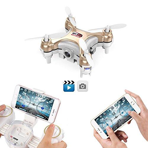 Goolrc Cx-10Wd-Tx Drone Mini con Cámara...