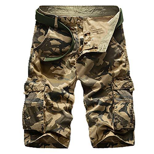 N\P Los hombres pantalones Cortos de los Hombres de Camuflaje Táctico Pantalones Cortos de