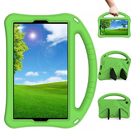 Lfdygcd - Custodia per Samsung Galaxy Tab A7 Lite 8.4, antiurto, con supporto per maniglia, colore: Verde